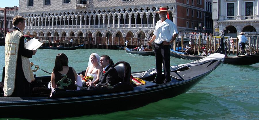 matrimoni e cerimonie simboliche a Venezia